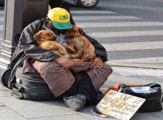 Помощь людям без определенного места жительства